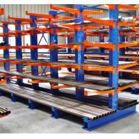 Heavy Long Span Selective Cantilever Racking System For Long Pipes / Items