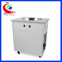 Buy cheap Flat Pan Fried Ice Cream Roll Machine With single pan double pan from wholesalers