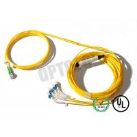 Buy cheap LC UPC Fiber Optic Y Cable 2x4 Twist Connector , Length Customized from wholesalers