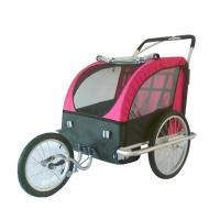 Buy cheap Aluminium frame Double bicycle baby Trailer / Jogger from wholesalers