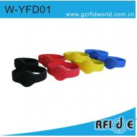 Buy cheap LF&HF Chips RFID Silicone  Wristband W-YFD01 (230mm,200mm,195mm) from wholesalers