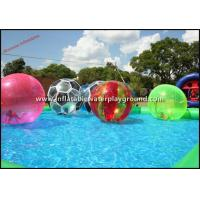 Buy cheap Multicolor Walk On Water Inflatable Human Hamster Ball For Water Park from wholesalers