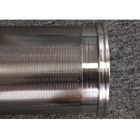 Johnson Cylindrical Screen For Liquid Filtration / Housing Cartridge Internal Filtration Element