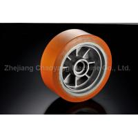 Buy cheap Polyuretahne Forklift Parts Driving wheel used for Xilin Electric Forklift OEM 340x104/72 from wholesalers