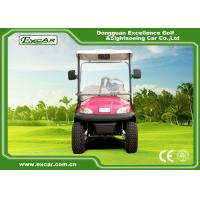Buy cheap Pink Electric Car With Open Cargo/ Trojan Battery/Curtis Controller 3700W from wholesalers