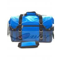 Buy cheap Blue 500D Polyester PVC Travel Cooler Bag With Screen Printing / Embossing Logo from wholesalers
