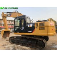 Buy cheap Caterpillar 20t 320d Used Cat Excavators 2013 Year 5.5km/H Rated Speed from wholesalers