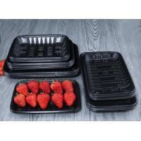Buy cheap Supermarket PP Food Trays For Fruit And Vegetable Packaging 10cm Width from wholesalers