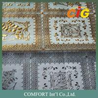 Buy cheap Nice Colorful PVC Tablecloth Pretty Surface Handle Soft With Much Designs Much from wholesalers