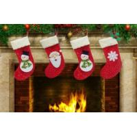 Buy cheap new design popular christmas stocking from wholesalers