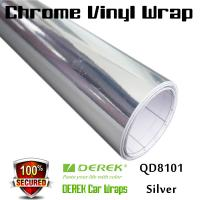 Buy cheap Chrome Mirror Car Wrapping Vinyl Film 3 layers - Chrome Silver from wholesalers