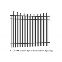 Buy cheap Australia  Standard Powder Coated Commercial Garrison Security Oz Wide Fence from wholesalers
