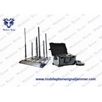 Buy cheap 350W Power Drone Signal Jammer 6 - 8 Bands Block Freaquency For Outdoor Installation from wholesalers