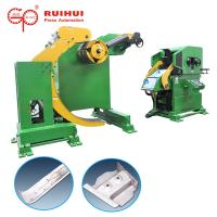 Buy cheap Slitter Steel Coil Decoiler Straightener Feeder 3 in 1 For Press NC Car Components from wholesalers