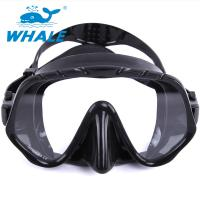 Buy cheap Tempered Glass Lens Silicone Diving Mask With Food Grade Liquid Silicone Skirt from wholesalers