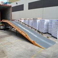 Buy cheap Europe Style Container Yard Ramp 10 Ton Steel Panel Non Slip Foldable from wholesalers