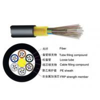 Buy cheap Single Jacket None Metallic Outdoor Fiber Optic Cable GYFTY With Small Diameter from wholesalers