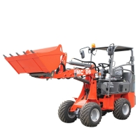 China 35° Turning Angle 2200rpm 1.642L 600kg Small Wheel Loader on sale