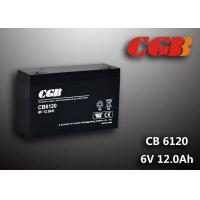 Buy cheap CB6120 charging high capacity AGM Lead Acid Battery 6V 12AH Anti Erosion Alarm System from wholesalers