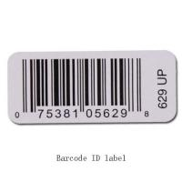 Buy cheap White Custom Thermal Transfer Print Label For Barcode QR Code Serial Number from wholesalers
