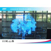 Buy cheap SMD 3 In 1 10mm Transparent LED Screen Board 1R1G1B , Full Color Led Signs from wholesalers