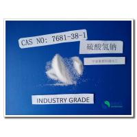 Buy cheap ISO 9001 SGS Sodium Bisulfate Detergent For Ceramic HS Code 2833190000 from wholesalers