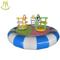 Buy cheap Hansel cheap soft play equipment electric soft swing boat for baby from wholesalers