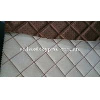 Buy cheap Commercial upholstery rubber fabric laminated car mat flooring 3mm thick product