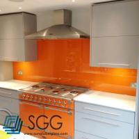 Buy cheap Silk Screen Tempered Painted Glass Splashback Kitchen glass 4mm 6mm 8mm 10mm from wholesalers