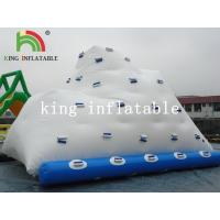 Buy cheap Backyard White Inflatable Water Iceberg / Durable PVC Custom Logo Printed Water from wholesalers