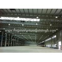 Buy cheap Long Span Prefabricated Steel Warehouse Earthquake Resistance With Curtain Walling from wholesalers