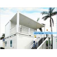 Buy cheap Galvanized Steel Mobile Container Homes Aluminum Alloy Window Wind Resistance from wholesalers