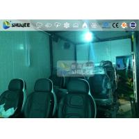 Buy cheap 9 Persons 7D Movie Theater With Special Effect System , Thrilling Drastic Movement Of Chair from wholesalers