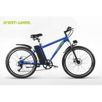 Buy cheap MTB style 26 inch wheel aluminum frame electric mountain bike with Shimano derailleur from wholesalers