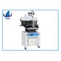 Buy cheap 0.6m Semi Automatic Stencil Printer for solder paste / smt production machine from wholesalers