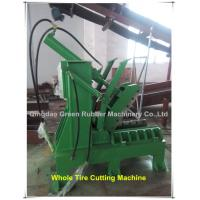 Buy cheap Hydraulic Whole Tyre Cutting Machine from wholesalers