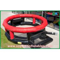 Buy cheap Inflatable Football Game Bubble Ball Field / Soccer Field Cage 3 Years Warranty from wholesalers