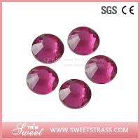 Buy cheap Rose Strass Shoes Hotfix Beads Crystal Components MC Rhinestones SS20 Dress Wedding Decorations Iron-on Diamond Trims from wholesalers