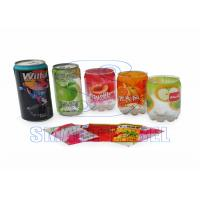 Buy cheap Heat Plastic Stretch Sleeve Labels OPS Shrink Film for Nutraceutical / Metal Cans 40 Micron from wholesalers