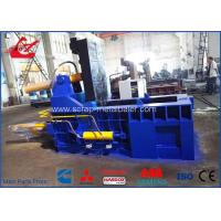 Buy cheap Auto Control Scrap Metal Baler / Hydraulic Scrap Baling Press For Aluminum Waste Steel product