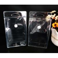 Buy cheap Custom PVC Packing Bag , Clear PVC Pouch Bag With Pouch Button product