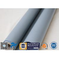 Buy cheap 0.55mm Silicone Coated Fiberglass Cloth 580gsm Thermal Insulation Jacket Cloth from wholesalers