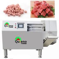 Automatic Chilled Cheese Cubes Cutting Dicer Machine