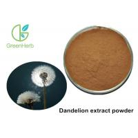 Buy cheap Free Sample Herbal Plant Extract Brown Yellow Dandelion Extract Powder from wholesalers
