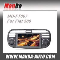 Buy cheap 2 din Car stereo for Fiat 500 With GPS DVD Bluetooth RDS Radio satellite gps navigation from wholesalers