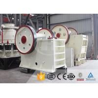 Buy cheap Mining Construction Works Q235 16TPH Small Jaw Crusher from wholesalers