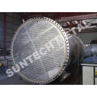 Buy cheap Duplex Steel 2205 Shell Tube Heat Exchanger , Tubular Heat exchanger for MDI from wholesalers