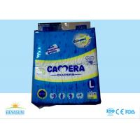 High Absorption Disposable Baby Diapers Breathable With USA Fluff Pulp