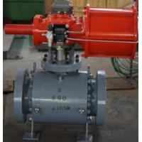 Buy cheap Split Body Pipeline Ball Valve for Natural Gas / Electric Power / Pump Stations from wholesalers