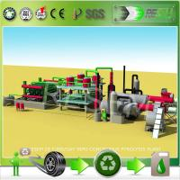 Buy cheap Continuous Waste Plastic Pyrolysis Process Production Line from wholesalers